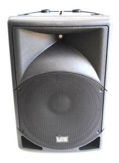 Caixa Amplificada Black Box Yxb15bl Usb Disp.Digi.15´Ativa Rms
