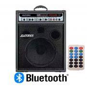 Caixa Amplificada Datrel Dmu12.300 Bluetooth Usb/Cd/Fm C/Cont.Remoto Multiuso 300wrms