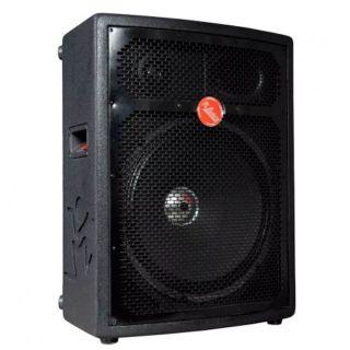 Caixa Amplificada Leacs Fit550a Bluetooth Usb/Sd/Fm,Fal15 Disp.Dig.Cont.Rem.Ativa 250wrms