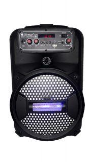 Caixa Amplificada Livstar CNN8012TS BLUE.USB/SD/FM/MIC 8Wrms