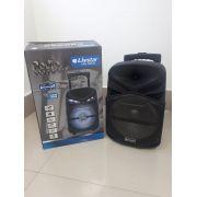 Caixa Amplificada Livstar CNN8021TS BLUE.USB/SD/FM/MIC 40WRMS