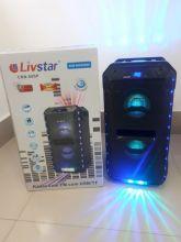 Caixa Amplificada Livstar CNN88SP BLUE.USB/SD/FM/MIC 50WRMS