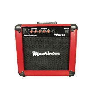 Caixa Amplificada Mackintec Maxx10 C/Distorção Guitarraa,15wrms Vermelho