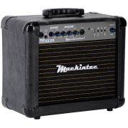 Caixa Amplificada Mackintec Maxx20 Usb C/Dist.Guit.15wrms Preta