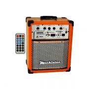Caixa Amplificada Mackintec Yonng Uz X150 Usb/Sd/Fm C/Cont.Remoto Multiuso 15w Lara.