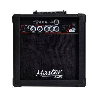 Caixa Amplificada Master Gt15 USB Dist.Guit. C/Controle 15wrms Preta