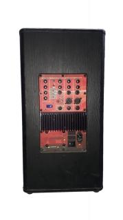 Caixa Amplificada Supertech A378wr Usb/Sd Frontal2v.F12 3canais C/Controle Remoto Ativa E Vira Passiva AlimentaPass.378wr