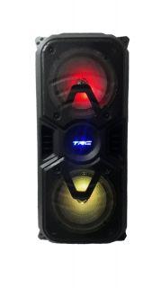 CAIXA AMPLIFICADA TRC 334 2FAL6 USB/SD/BLUE/FM 1MIC C/FIO CONTROL BAT 150W