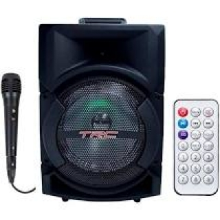 CAIXA AMPLIFICADA TRC 5522 USB/SD/FM .FALANTE 8 220WREF .T IMPORT
