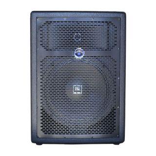 Caixa Amplificada Turbox Tba1200a Bluetooth Usb/Sd/Fm,Fal12 Disp.Dig.Cont.Rem.Ativa 250wrms