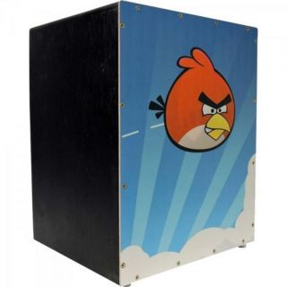 Cajon Tiger Ab Infantil Reto Finish Satin Angry Birds