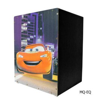 Cajon Tiger Mq Infantil Reto Finish Satin Carros