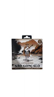 ENCORDOAMENTO BAIXO SAO GONCALO 11029 5CORDAS NIQUEL TENSAO LEVE LIGHT 045/0130 T