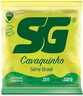Encordoamento Cavaco Sg 5131 Niquel C/Bolinha Tensao Alta 011