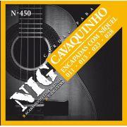 Encordoamento para Cavaquinho Nig N450 C/Bolinha