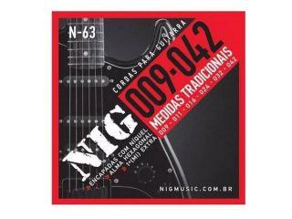 Encordoamento  Para Guitarra Fender 57835 250l Niquel Leve 09/042