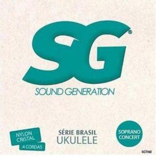 Encordoamento Ukulele Sg 7162 Nylon Soprano Concert