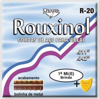 Encordoamento Violão Rouxinol R20 Aco C/Bolinha