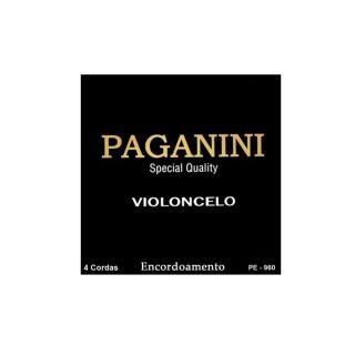 Encordoamento Para  Violãocelo Paganini Pe960