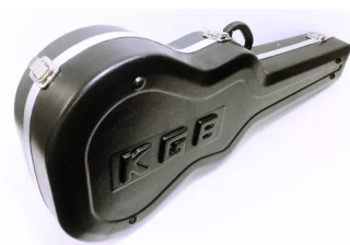 Estojo.viol. Kgb Classico Fibra Formato Preto