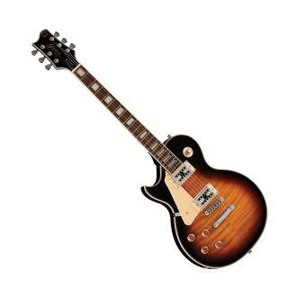 Guitarra Canhota Golden Gld155c Lespaul Cap.Wilkinson Sumburst