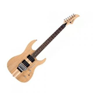 Guitarra Eagle Egt61 C/ Floyd Rose Natural - Saldo