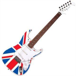 Guitarra Eagle Sts002 2s 1h Strato Band.us Band.u.s.a Saldo