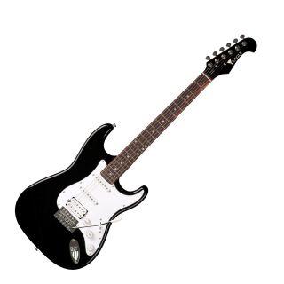 Guitarra Eagle Sts002 2s 1h Strato Preta