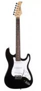 Guitarra Waldman  St111bk 3s Strato C/escudo Branco