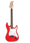 Guitarra Waldman  St111rd 3s Strato Vermelha