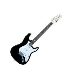 Guitarra Winner Wgs 8678 3s Strato Preta