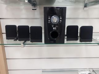 Home Theater Livstar Max-5200 Blue.Usb/Sd/Fm Surround 5.1 30Wrms