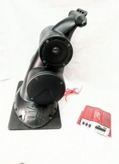 Kit Caixa Navesom Asa1 Supertech e Amplificador Kinter Ma120 Propagand
