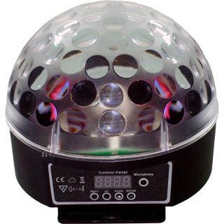 Luminaria Xcell XCXL10 Luminaria Usb/Sd, Bola Giratória Led Analogico C/Pen Drive E Cont.Rem.