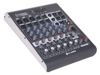 Mesa De Som 6 Canais Ll Starmix Xms602r Bluetooth Usb,Sd,3can.Xlr,Cont.Remoto