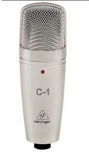 Microfone Behringer C1U Condenser C/Cabo Usb