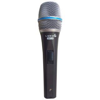 Microfone Lyco Smp 20 c/cachimbo e cabo P10