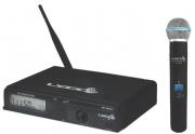 Microfone Lyco Uhxpro01mhli Uhf 100 Freq.s/fio Mao 1 Antena