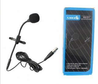Microfone Sopro Lyco IM01MX Sax Avulso Mini XLR 3PIN