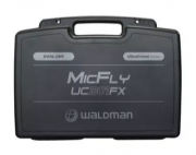 Microfone Waldman Uc201fx Uhf 1 Freq S/fio Mao Duplo 2 Anten