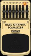 Pedal Behringer  BEQ700 Graphic Equalizador Baixo
