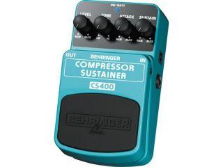 Pedal Behringer Cs400 Compressor Sustainer Guitarra