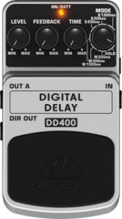 Pedal Behringer DD400 Digital Delay Guitarra