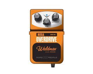 Pedal Waldman Mov3r Mega Overdrive Guitarra