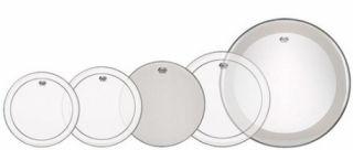 Pele Kitt Encore ENPS20PP 10629 Remo 12,13,16 Pinstripe Transparente 22 Powerstroke 3 Transp.14 Ambassador Porosa