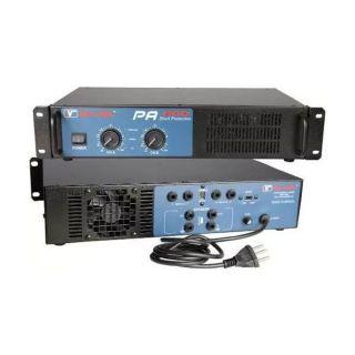Potencia Newvox PA600 Toroidal 300WRMS