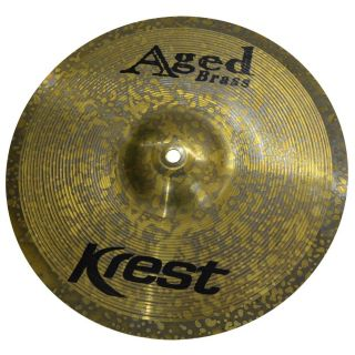 Prato 14 Krest AB14HH Aged Brass Hi Hat Chimbal