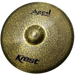 Prato 16 Krest AB16MC Aged Brass Latao Medium Crash