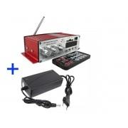 Processador Kinter Kinter MA120 12V USB SD FM 2Can Cont.  Remto 40W