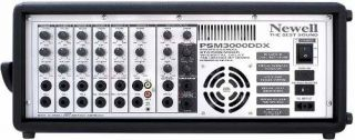 Amplificador Newell PSM3000DDX 6Canais C/Deley 300WRMS